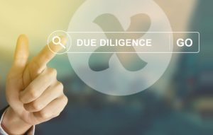 Sichere Due Diligence