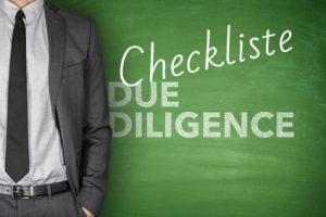 Due diligence checkliste