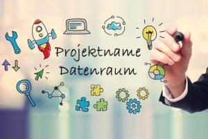 Projektnamen für Datenräume